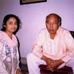 With Ustad Ali AKbar Khan Sahab at his Kolkata residence, Kolkata, India, 1999