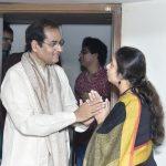 With Pt. Uday Bhawalkar Ji at Paramparik Festival.