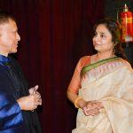 With Padma Bhushan Pt. Budhaditya Mukherjee