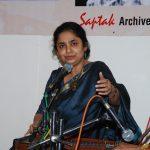 Performing in Saptak, Ahmedabad, India