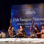 15th SaMaPa Sangeet Sammelan, New Delhi, India, 2019