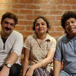 With Sandip ( Chatterjee ) and Soumen (Sarkar ), 2019