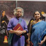 With Eminent Painter Shri Jogen Chowdhury