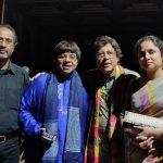 Post Concert Photo-Op with Pt. Parimal Chakraborty, Vidwan Shashank Subramanyam, Pt. Anindo Chatterjee