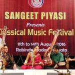 Sangeet Piyasi, Silver Jubilee Celebration, Kolkata, India, 2016